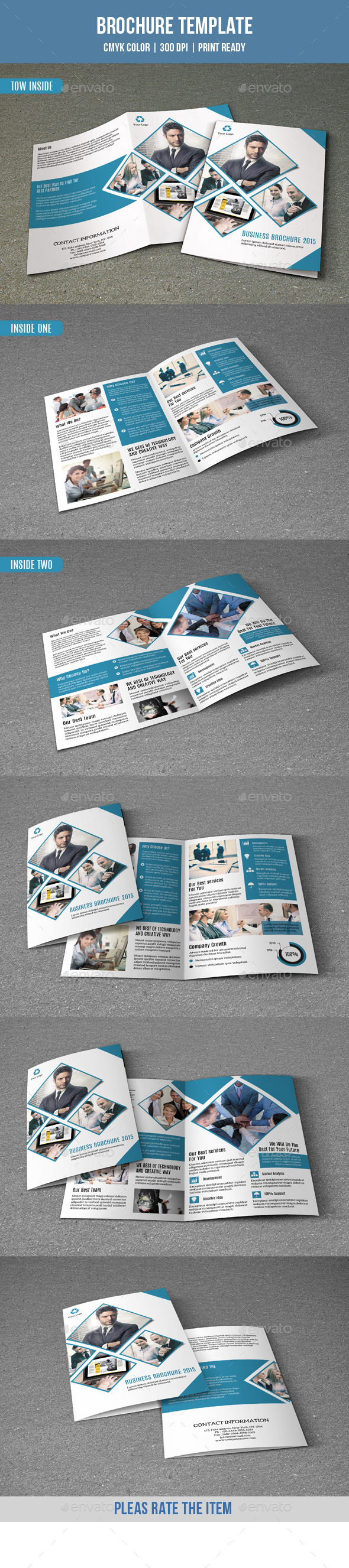 Bifold Brochure for Business