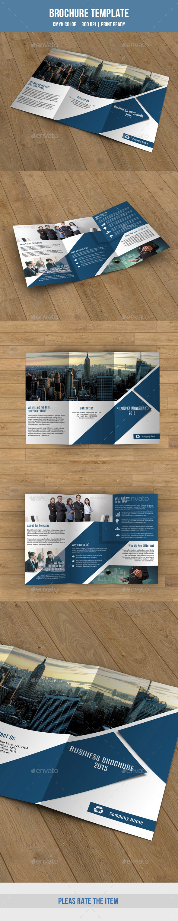 GraphicRiver Trifold Business Brochure-V187 9472751
