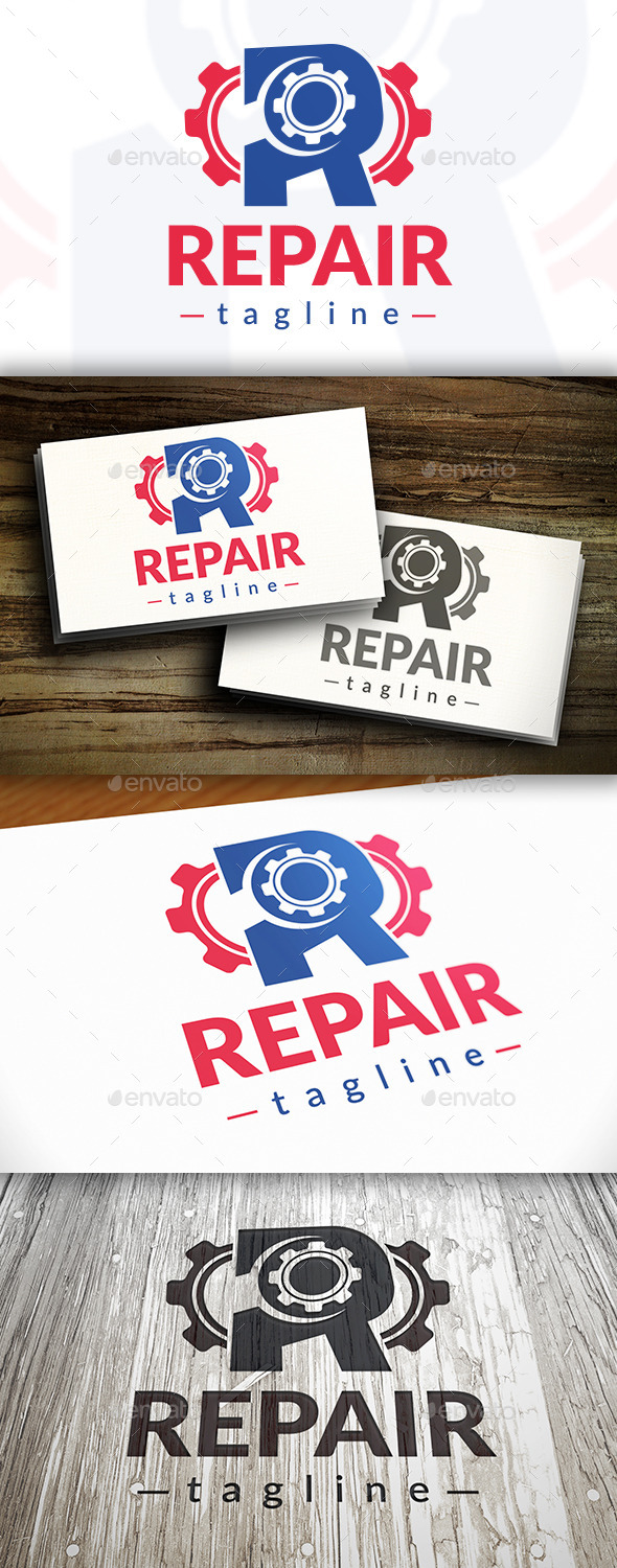GraphicRiver Repair Logo 9472753