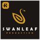 Swan Leaf Logo - GraphicRiver Item for Sale
