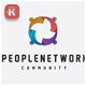 People Networking Logo - GraphicRiver Item for Sale