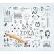 Business Idea Doodles - GraphicRiver Item for Sale