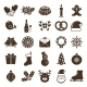 Christmas Silhouettes Icons - GraphicRiver Item for Sale