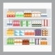 Cartoon Medicine in Pharmacy - GraphicRiver Item for Sale