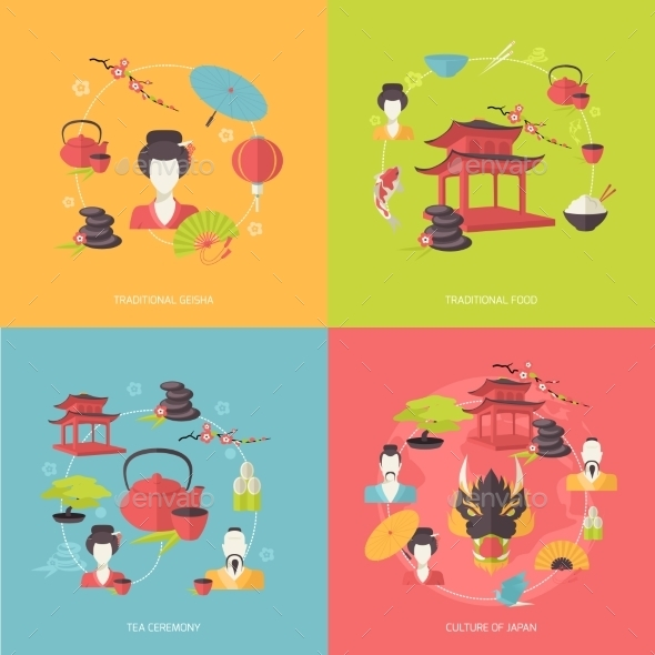 GraphicRiver Japan Icons 9473425