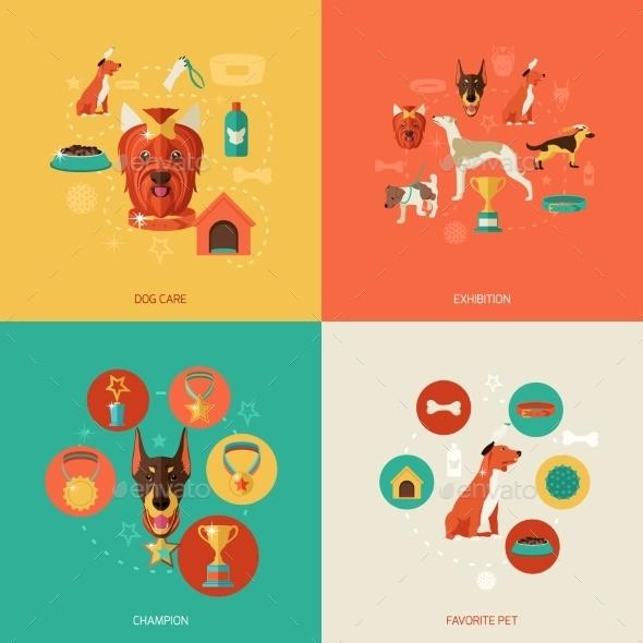 GraphicRiver Dog Icons 9473481