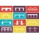 Bridge Icons - GraphicRiver Item for Sale