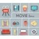Conceptual Movie Time Graphic Design - GraphicRiver Item for Sale