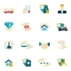 Insurance Icons Flat - GraphicRiver Item for Sale