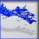 HD Water Paint Liquid Splash 13 - 3DOcean Item for Sale