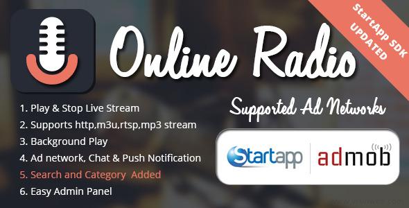 Online Radio - CodeCanyon Item for Sale