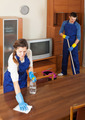 Professional cleaners cleaning floor - PhotoDune Item for Sale