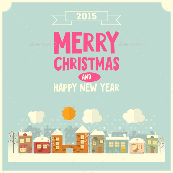 GraphicRiver Christmas Card 9474107
