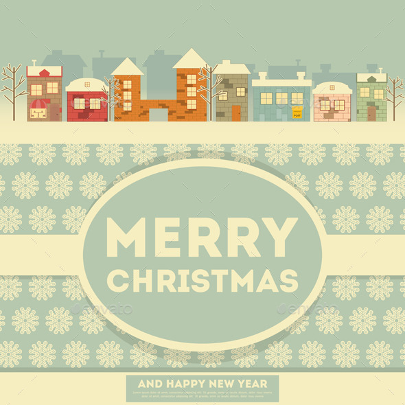 GraphicRiver Christmas Card 9474253