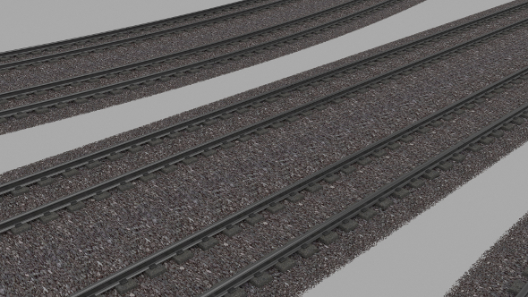 3DOcean Double Rail Line 9474483