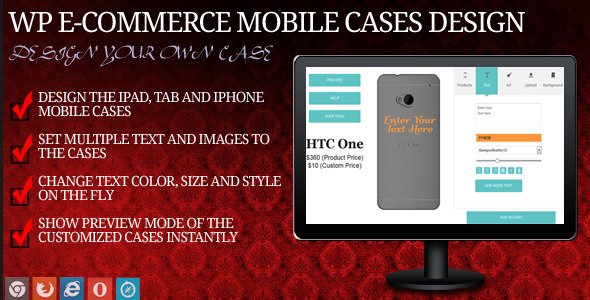 CodeCanyon Mobile Case Design for WP eCommerce 9474817
