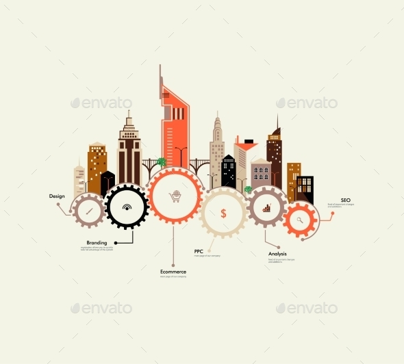 GraphicRiver City Infographics 9474832