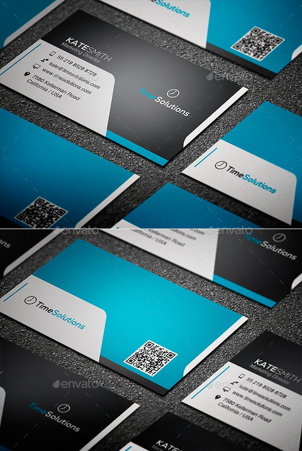 GraphicRiver Clean Business Card 9474853