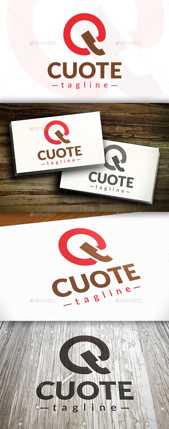 GraphicRiver Quote Logo 9474878