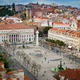 Rossio square aerial view - PhotoDune Item for Sale