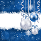 Christmas Background with Baubles - GraphicRiver Item for Sale