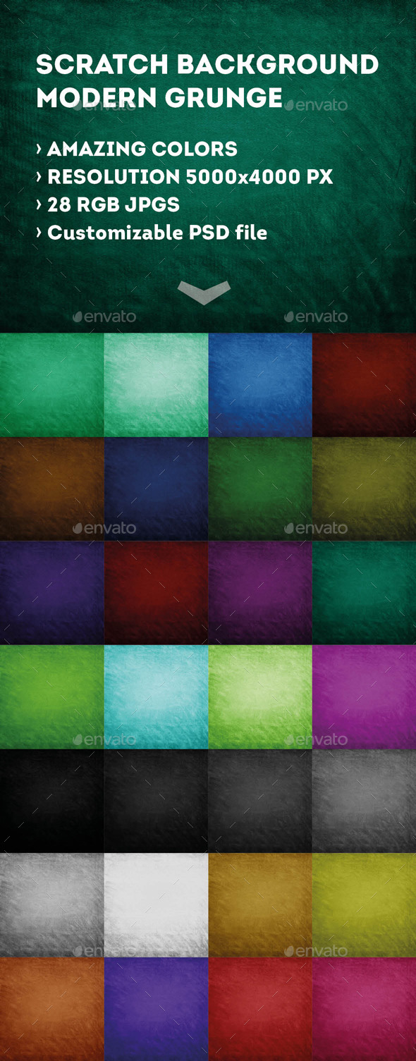 GraphicRiver 28 Scratched Grunge Texture Pack 9430816