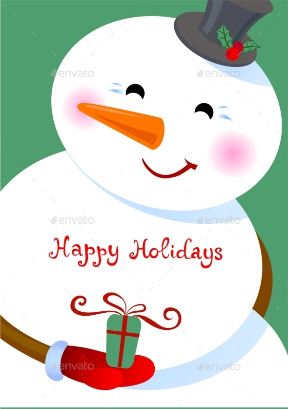 GraphicRiver Happy Holidays Greetings 9475145