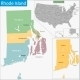 Rhode Island Map - GraphicRiver Item for Sale