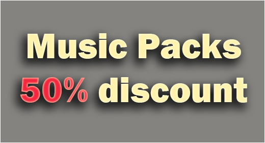 Music Packs - Save 50%