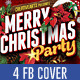 Christmas Party FB cover - GraphicRiver Item for Sale
