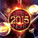 Electro 2015 New Year Party Flyer - GraphicRiver Item for Sale