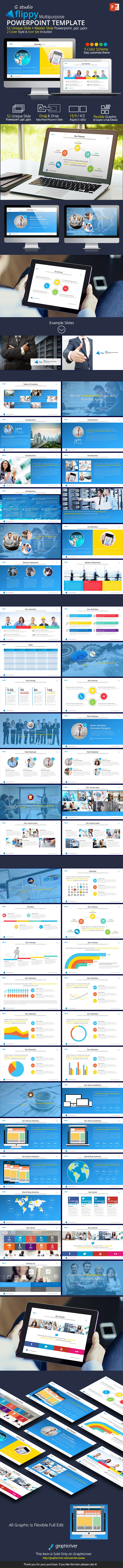 Flippy Powerpoint Template