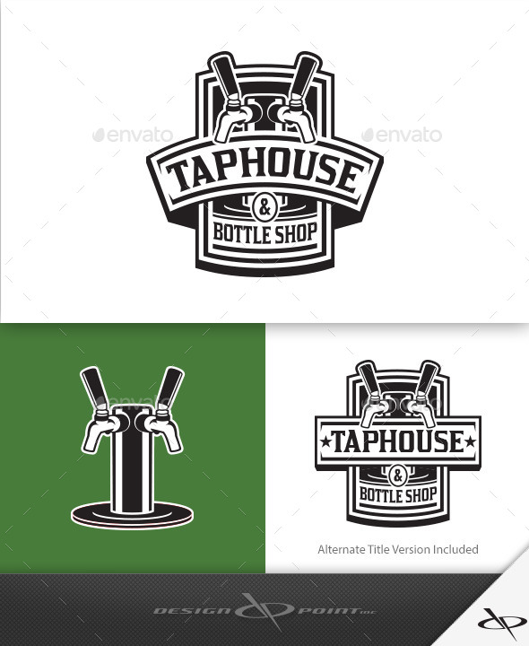 GraphicRiver Tap House Logo 9475858