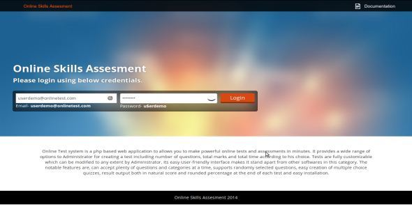 CodeCanyon Online Skills Assesment 9379895
