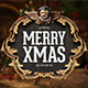 4 PSD Christmas Badges - GraphicRiver Item for Sale