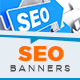 SEO Optimization Web Banners - GraphicRiver Item for Sale