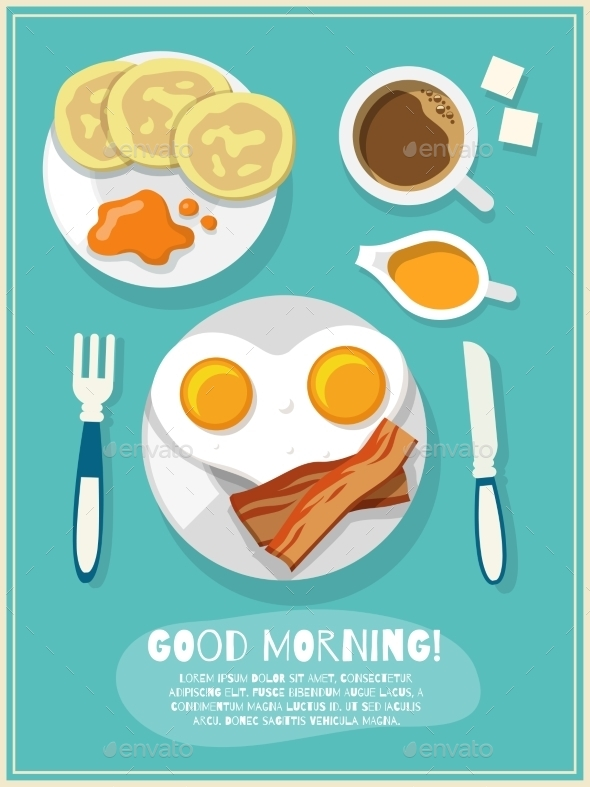 GraphicRiver Breakfast 9476182