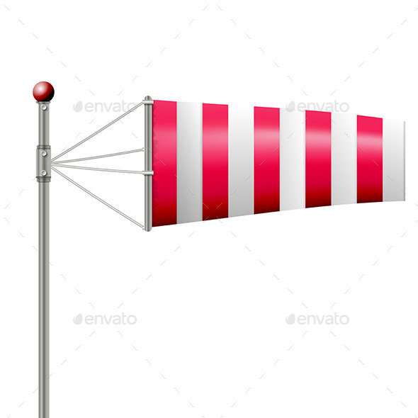 GraphicRiver Red Windsock 9476572