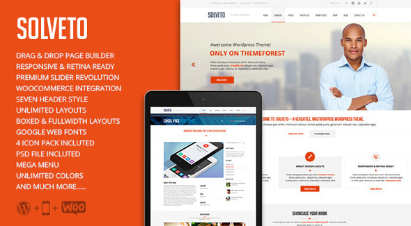 ThemeForest Solveto Multi-Purpose Business Theme 9358165