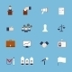 Elections Icons Set Flat - GraphicRiver Item for Sale