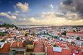 Lisbon, Portugal Skyline and Castle - PhotoDune Item for Sale