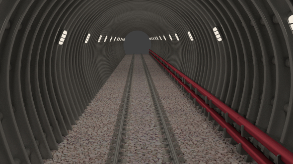 3DOcean Subway tunnel 9477211
