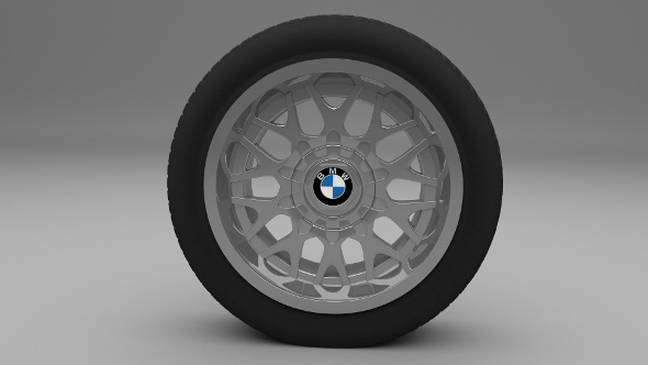 3DOcean BMW Wheel 9477345