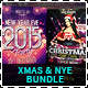 Christmas & New Year Eve Party Flyer Bundle - GraphicRiver Item for Sale