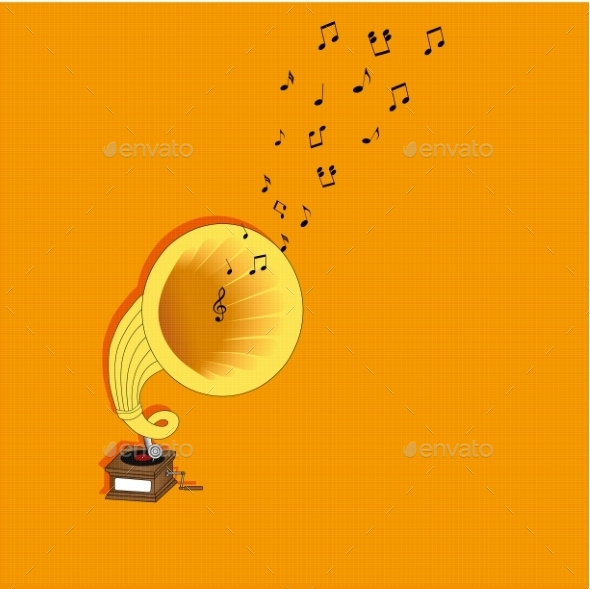 GraphicRiver Gramophone 9477432