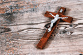 Beautiful old cross with jesus - PhotoDune Item for Sale
