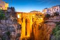 Ronda, Spain at Puento Nuevo Bridge - PhotoDune Item for Sale