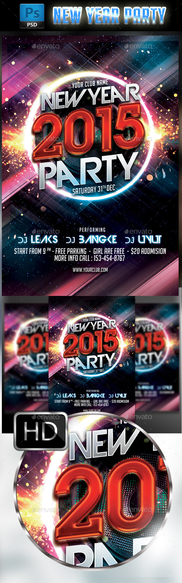 GraphicRiver New Year Party 9479090