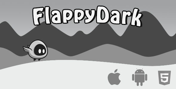 Flappy Dark Html5 Game