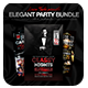 Elegant Party Flyer Bundle - GraphicRiver Item for Sale